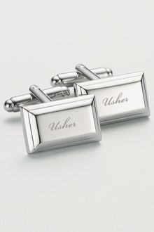 Next Usher Wedding Cufflinks - 117980