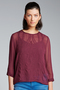 New Look Hillary Embroided Shell Top