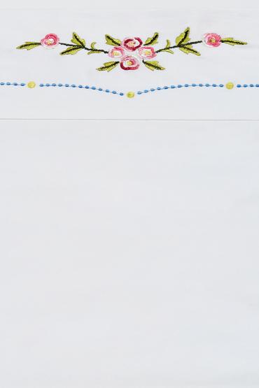 Trelise Cooper Rose Upon Rows Flat Sheet Online | Shop EziBuy