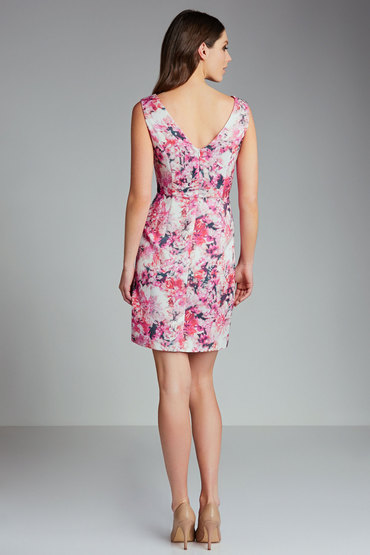 Grace Hill Floral Print Dress