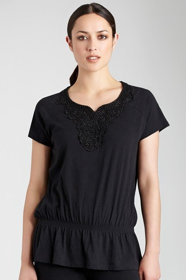 Capture Beaded Top