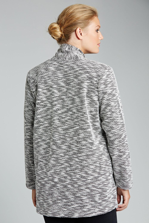 d1820ce6915 Plus Size - Sara Boucle Knit Jacket