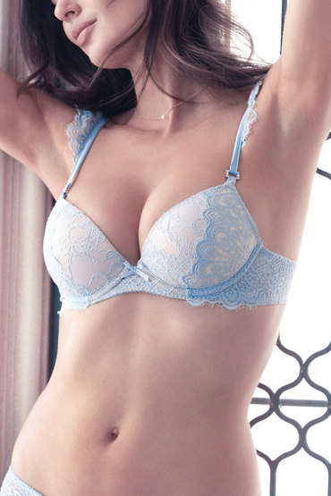 Pleasure State Kourtney Leigh Push Up Plunge Bra
