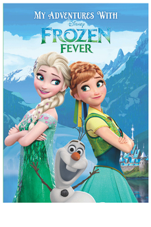 Personalised Adventure Book Disney Frozen Fever