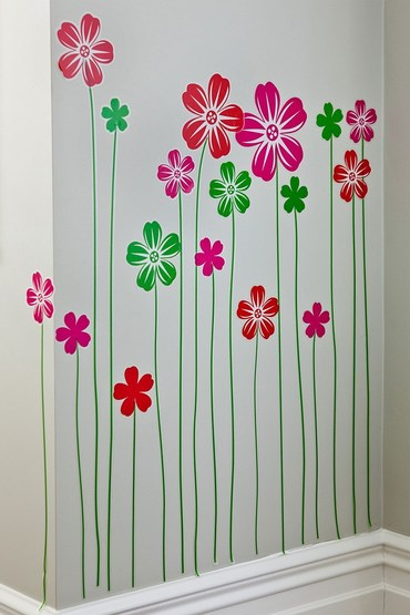 Growing Flower Wall Sticker