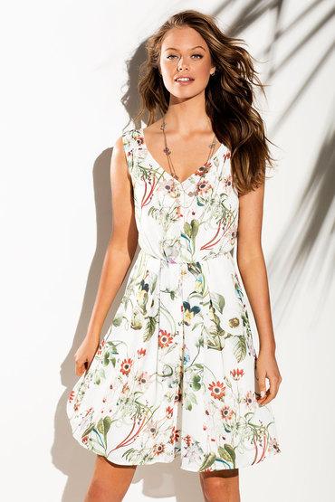 Emerge Printed Dress