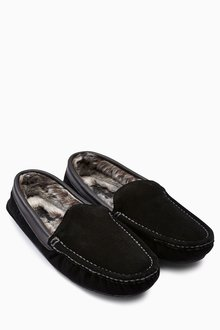 Next Luxury Suede Moccasin