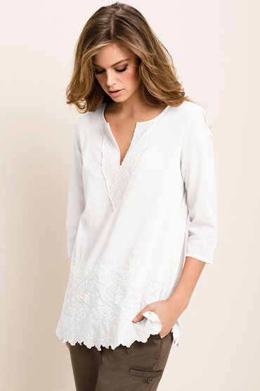 Emerge Embroidered Tunic