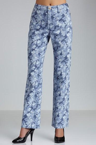 Essentials High Rise Bootleg Jeans