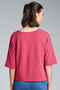 New Look Textured Kimono Sleeve Top