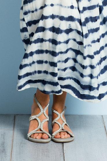 Grace Hill Crystal Jewelled Sandal