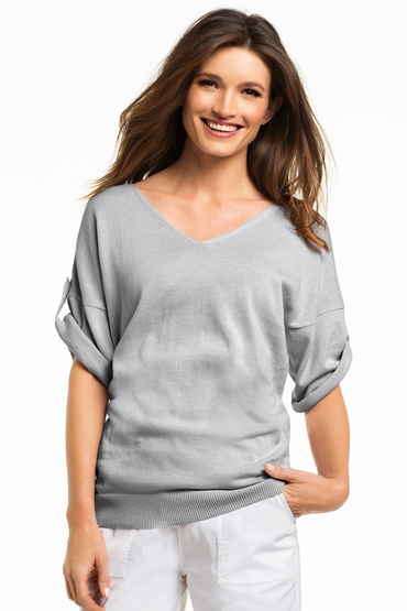 Capture V Neck Knit Jumper