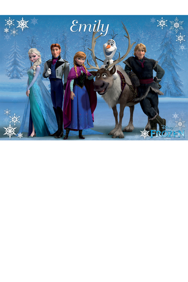 Personalised Disney Frozen Poster