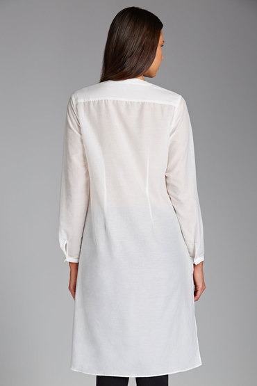 Grace Hill Classic Silk Cotton Shirt