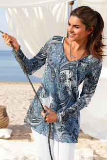 Urban Printed Tunic - 138564