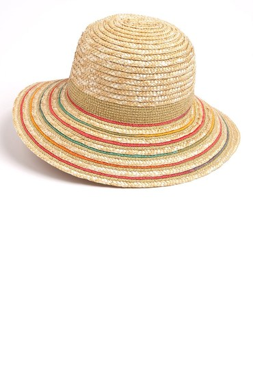 Sunrise Straw Bucket Hat