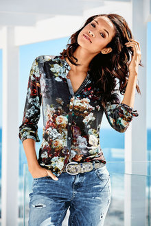 Heine Floral Print Shirt