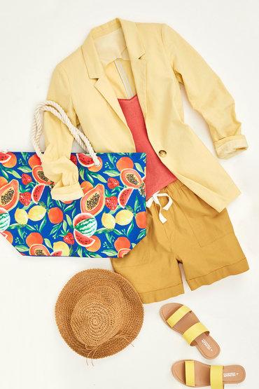 Lemon Linen Delight - 23380511