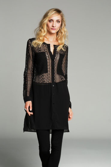 Vertice Tina Lace Shirt Dress