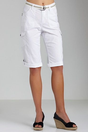 Capture Belted Cargo Shorts