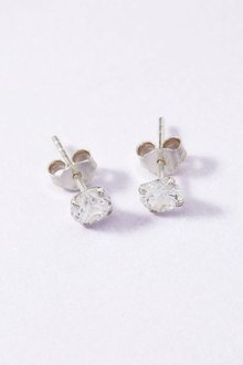 Next Sterling Silver Sterling Silver Cubic Zirconia Stud Earrings