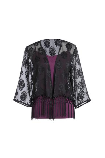 New Look Fringe Kimono