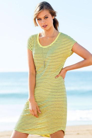 Emerge Slouchy Linen Dress