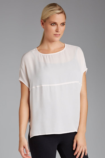 Grace Hill Silk Tee