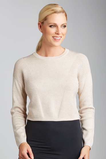 Emerge Cropped Jumper