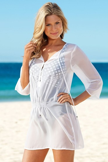 Capture Swimwear Georgette Kurta