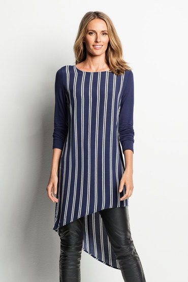 Grace Hill Asymmetric Tunic