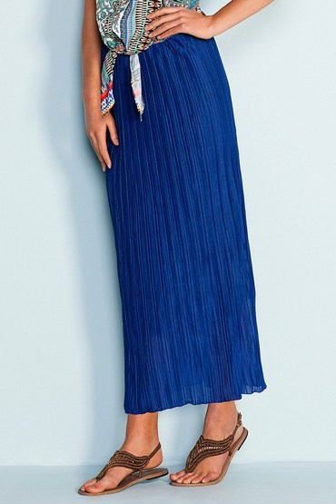 Capture Crinkle Maxi Skirt