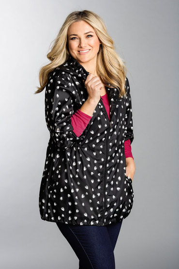 Plus Size - Sara Spray Jacket