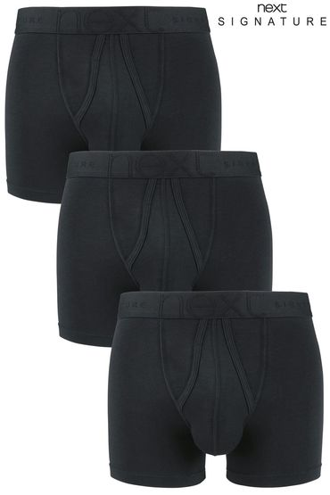 Next Signature Black A-Fronts Three Pack