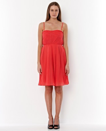 Emerge Pleat Detail Dress