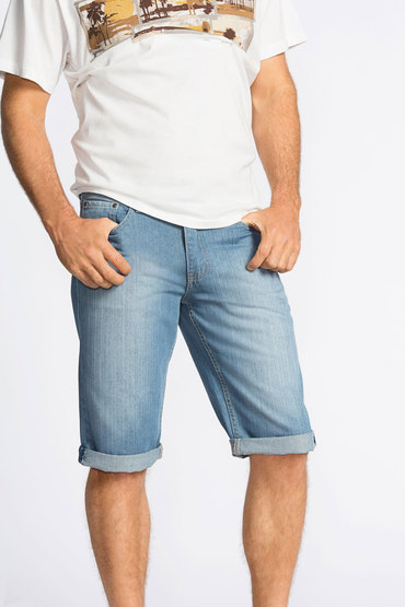 Southcape Roll-up Denim Shorts