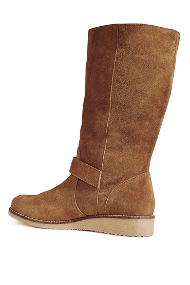 buy next leather low wedge boots shop the brand store