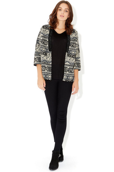 Monsoon Jojo Jacquard Jacket