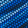 Navy Blue Print