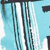 Teal Print