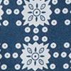 Blue Tile Print